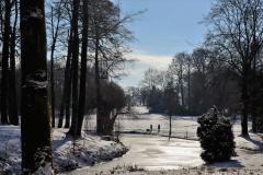 Park hinter dem Schloss Dyck