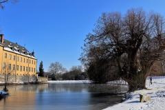 Schloss Dyck Seitenansicht