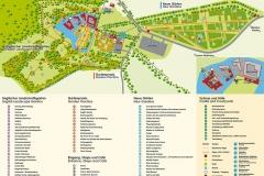 Lageplan Schloss Dyck